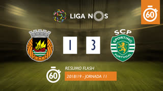 I Liga (11ªJ): Resumo Flash Rio Ave FC 1-3 Sporting CP