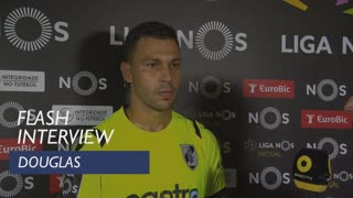 Liga (3ª): Flash interview Douglas