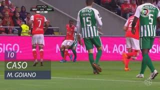 SC Braga, Caso, Marcelo Goiano aos 10'