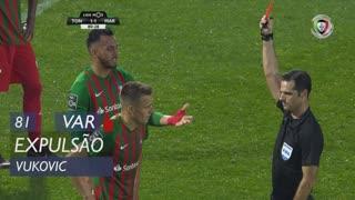 Marítimo M., Expulsão, Vukovic aos 81'