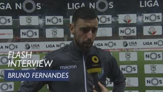 Liga (23ª): Flash Interview Bruno Fernandes