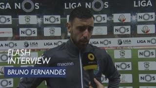 Liga (23ª): Flash Interview Bruno Fernandes