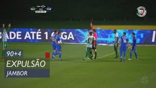 Rio Ave FC, Expulsão, Jambor aos 90'+4'