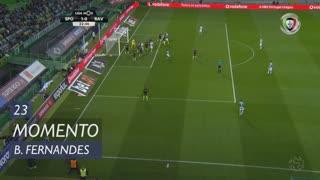 Sporting CP, Jogada, Bruno Fernandes aos 23'