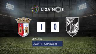 Liga NOS (25ªJ): Resumo SC Braga 1-0 Vitória SC
