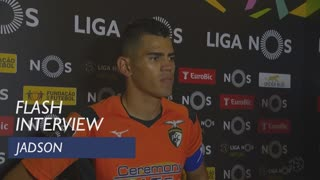 Liga (12ª): Flash interview Jadson