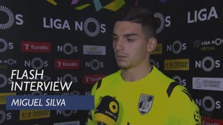 Liga (31ª): Flash Interview Miguel Silva