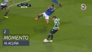 Sporting CP, Jogada, M. Acuña aos 2'