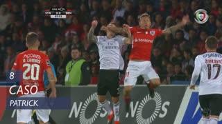 SL Benfica, Caso, Patrick aos 8'