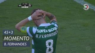 Sporting CP, Jogada, Bruno Fernandes aos 45'+3'