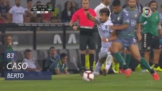 Vitória FC, Caso, Berto aos 83'