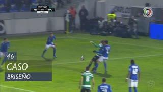 CD Feirense, Caso, Briseño aos 46'