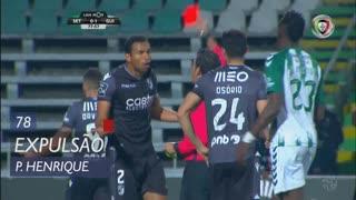 Vitória SC, Expulsão, Pedro Henrique aos 78'