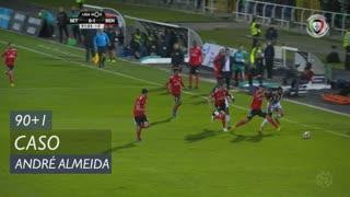 SL Benfica, Caso, André Almeida aos 90'+1'