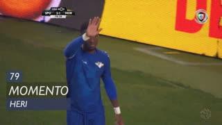 Moreirense FC, Jogada, Heri aos 79'