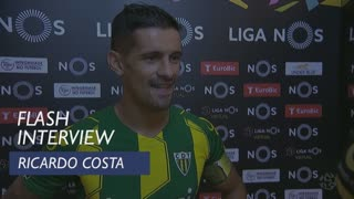 Liga (6ª): Flash interview Ricardo Costa
