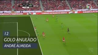 SL Benfica, Golo Anulado, André Almeida aos 12'