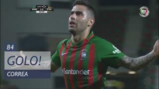 GOLO! Marítimo M., Correa aos 84', Marítimo M. 2-0 Portimonense