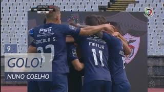 GOLO! Belenenses, Nuno Coelho aos 9', Belenenses 1-0 Santa Clara