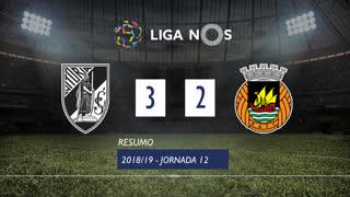 Liga NOS (12ªJ): Resumo Vitória SC 3-2 Rio Ave FC