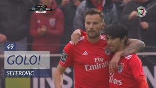 GOLO! SL Benfica, Seferovic aos 49', CD Feirense 1-3 SL Benfica