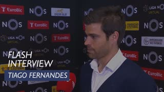 Liga (23ª): Flash Interview Tiago Fernandes