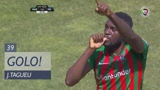 GOLO! Marítimo M., J.Tagueu aos 39', Marítimo M. 1-0 CD Feirense