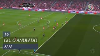 SL Benfica, Golo Anulado, Rafa aos 16'