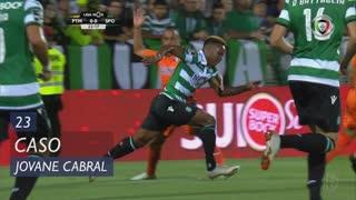 Sporting CP, Caso, Jovane Cabral aos 23'