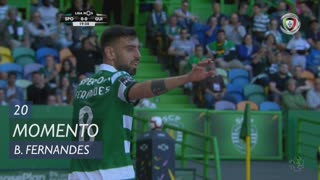 Sporting CP, Jogada, Bruno Fernandes aos 20'
