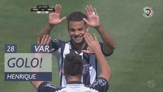 GOLO! Portimonense, Henrique aos 28', Portimonense 1-1 Marítimo M.