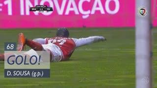 GOLO! SC Braga, Dyego Sousa aos 68', SC Braga 3-0 CD Feirense