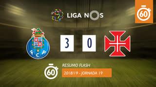 Liga NOS (19ªJ): Resumo Flash FC Porto 3-0 Os Belenenses