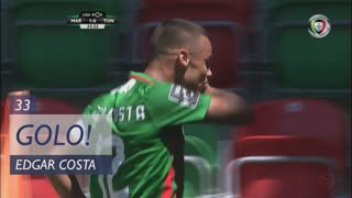 GOLO! Marítimo M., Edgar Costa aos 33', Marítimo M. 1-0 CD Tondela
