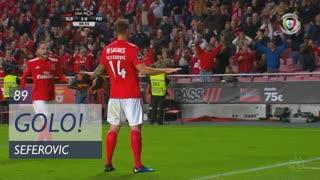 GOLO! SL Benfica, Seferovic aos 89', SL Benfica 4-0 CD Feirense