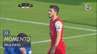 SC Braga, Jogada, Paulinho aos 35'