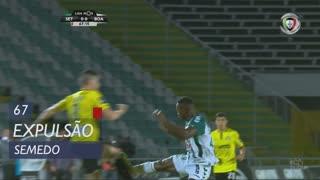 Vitória FC, Expulsão, Semedo aos 67'