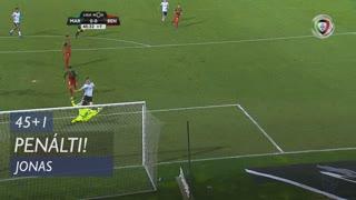 SL Benfica, Penálti, Jonas aos 45'+1'