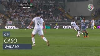 Vitória SC, Caso, Wakaso aos 64'