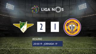 Liga NOS (19ªJ): Resumo Moreirense FC 2-1 CD Nacional
