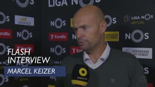 Liga (28ª): Flash Interview Marcel Keizer