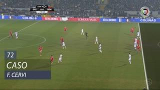 SL Benfica, Caso, F. Cervi aos 72'