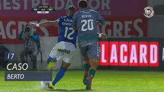 Vitória FC, Caso, Berto aos 17'