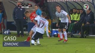 SL Benfica, Caso, Zivkovic aos 49'