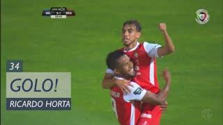 GOLO! SC Braga, Ricardo Horta aos 34', Os Belenenses 0-2 SC Braga