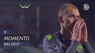 Sporting CP, Jogada, Bas Dost aos 9'