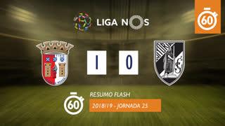 Liga NOS (25ªJ): Resumo Flash SC Braga 1-0 Vitória SC