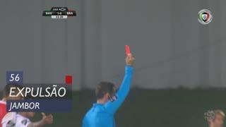 Rio Ave FC, Expulsão, Jambor aos 56'