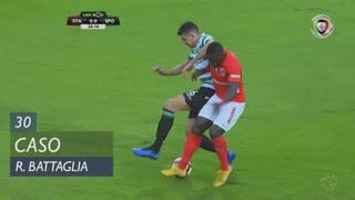 Sporting CP, Caso, Rodrigo Battaglia aos 30'
