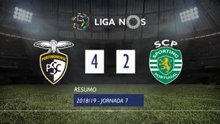 Liga NOS (7ªJ): Resumo Portimonense 4-2 Sporting CP